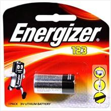 Energizer Primary CR123A Lithium Battery (Non-Rechargeable)