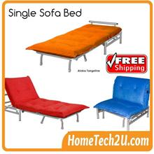 Single Size Sofa Bed Reclining Function For Hospital Guest Visitor