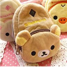 Rilakkuma Mini Camera Bag/Handphone Bag/Storage Bag/Purse_[RK-32]