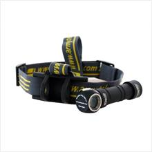 Armytek Wizard Pro XM-L2 Cool White LED Headlamp ~ Uses 1 x 18650