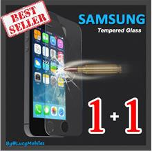 Samsung S7 S4 S5 Note 2 3 4 5 A5 A7 A8 9 5s 6s Tempered Glass 1+1FREE