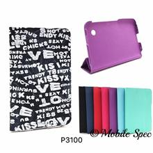 Samsung Galaxy Tab 2 P3100 P6200 7' 360 Rotate Book Case Leather Pouch