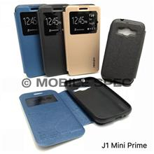 Samsung Galaxy S3 Mini I8190 Side Flip Pouch Leather Case Standable