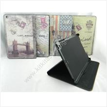Apple iPad Mini Country Flip Standable Leather Pouch Case Cover