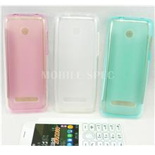 Nokia 206 / 2060 Pudding Transparent TPU Soft Tinted Case Casing