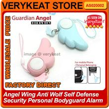 Promo!! Angel Wing Self Defense Security Personal Bodyguard Alarm Girl
