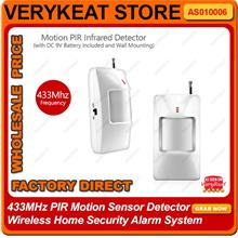 PIR Infrared Motion Detector for Wireless Home Security Alarm System