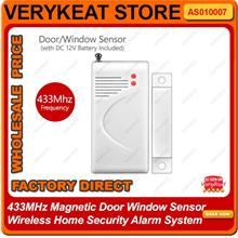 Wireless vibration sensor for Wireless Home Security Alarm System