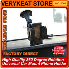 FLY 360 Degree Rotation Universal Car Mount Mobile Phone HP Holder