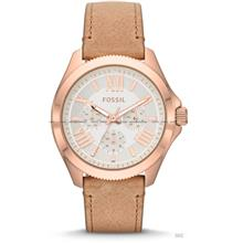 FOSSIL AM4532 Women's Analogue Cecile Multifunction Leather Strap Sand