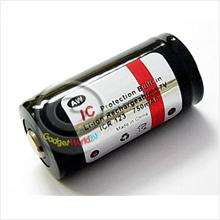 AW CR123 / 16340 3.7V 750mAh Protected Rechargeable Battery