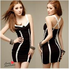 Hot Sexy Clubbing Costume Party Nightwear Dress L1029 (2 Colours)