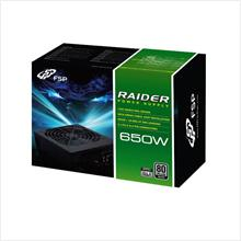 # FSP RAIDER 650W 80PLUS SILVER PSU # Best Buy!