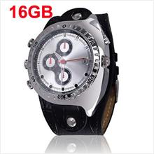 Night Vision 16GB 1080P Waterproof Watch Camera DVR (WCH-11C16GB)!