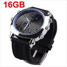 16GB Voice Activated Waterproof Watch Camera (WCH-12B16GB)!