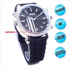 Night Vision Voice Actived Female Wrist Watch Camera !