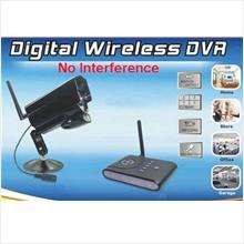 Motion Detect Digital Wireless Camera, No Interference (DVR-12)!
