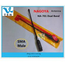 NAGOYA NA701 NA-701 Dual Band Antenna Male For Walkie Talkie