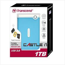 Transcend HDD EXT 2.5' USB3.0 RUGGED 1TB (TS1TSJ25M3B) BLUE