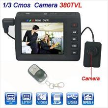 Button Camera with LCD (WBC-01A) -