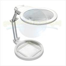 Desktop Large Foldable Magnifying Glass Adjustable Height