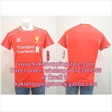 Liverpool FC Home 2014/2015 Jersey/Jersi-Whatsapp 0123051986 to order