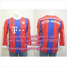 Bayern Munchen 14/15 Home Long Sleeve Jersey-Whatsapp 0123051986