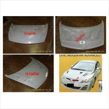 Honda Civic FD '06 RR Advanced Front Bonnet [Fiber Material]