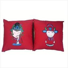 Jubilant Couple Pillow Case 1Set (Best Selling)
