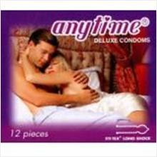 ANY TIME LONG SHOCK CONDOM 3pcs (Prolong Play Kondom)