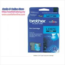 BROTHER INK CARTRIDGE LC-67 (CYAN)