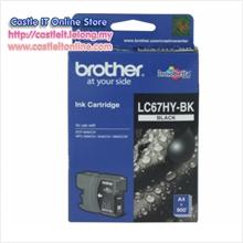 BROTHER INK CARTRIDGE LC-67HY (BLACK)
