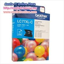 BROTHER INK CARTRIDGE LC-77XL (CYAN)