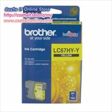 BROTHER INK CARTRIDGE LC-67HY (YELLOW)