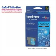 BROTHER INK CARTRIDGE LC-67HY (CYAN)