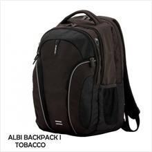 SAMSONITE CASE BACKPACK ALBI LP I (Z93-013-001) TOBACCO