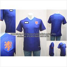 Holland Away World Cup 2014 Player Issue Jersey-Whatsapp 0123051986