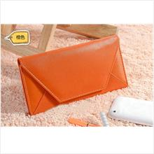 PR006_Orange Envelop Slim Purse