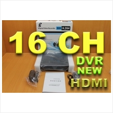 NEW 16 channel  H.264 DVR  HMDI  VGA CCTV ALARM DDNS NETWORK