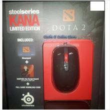 SteelSeries Mouse Wired Laser Kana DOTA 2 with MousePad (62033) +ITEM