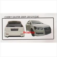 Chery Eastar GB Style Full Set Body Kit  ABS Skirting + Spoiler