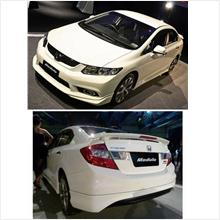 Honda Civic 2012 MODULO Style Full Set Body Kit ABS Material
