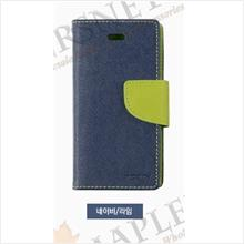 Mercury 100% ORI Fancy Diary Case Cover Casing iPhone 4 4S [D.Blue]