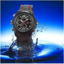 4GB HIDDEN DVR MOTION DETECT WATERPROOF WATCH CAMERA (KLCCTV)!