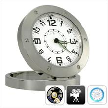 6 IN 1 MOTION DETECT CLOCK CAMERA DVR WITH 4GB MEMORY CARD (KLCCTV)!