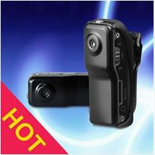 SUPER SMALL HIGH RESOLUTION  CAMCORDER WITH 8GB MEMORY CARD !