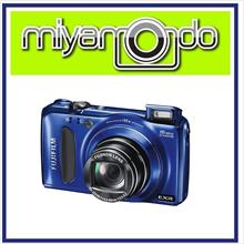 NEW Fujifilm Fuji FinePix F660 EXR Digital Camera (Blue) + 8GB + Case