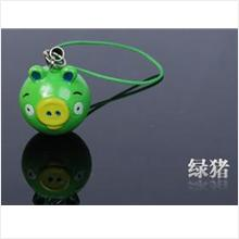 AB007 Green Pig Angry Bird Mobile Phone Chain