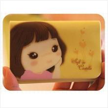 PR000_Yellow Korean Cookshop Card Case (Bit)