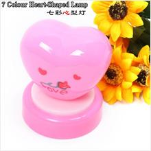 L043 Romantic heart-shaped pat colorful lights (Bit)